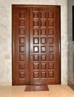 Деревянная теплая входная дверь в частный дом – Входные двери из дерева утеплённые
