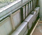 Утепление парапета балкона – Инструкции по укреплению и утеплению парапета балкона