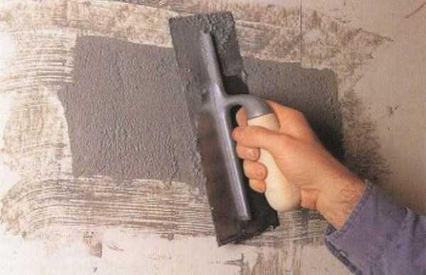 какой смесью заделать дыры в стене бетонной